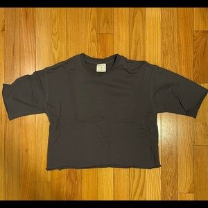 Urban Outfitters Oversized crop top sweater